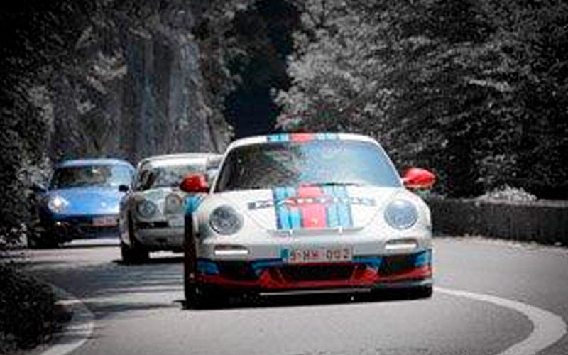 La Porsche Martini