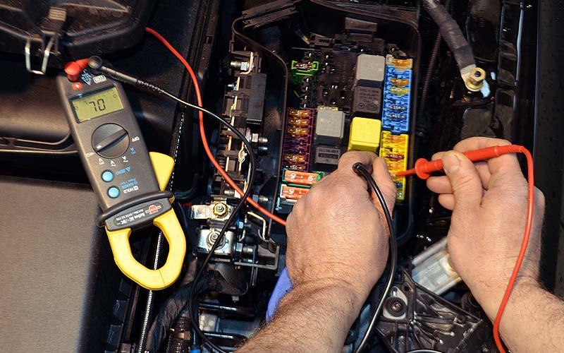 Réparation de carrosserie : réparations électriques